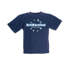 ActiVacation®️ Toddlers T-shirt – Navy