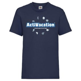 ActiVacation®️ T-Shirt – Children's 3-13 – Navy