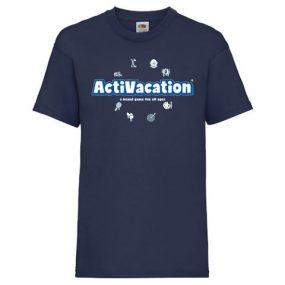 ActiVacation®️ T-Shirt – Children's 3-13 – Navy