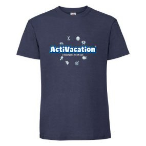 ActiVacation®️ T-Shirt – Men's – Navy