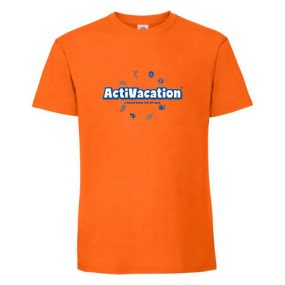 ActiVacation®️ T-Shirt – Men's – Orange